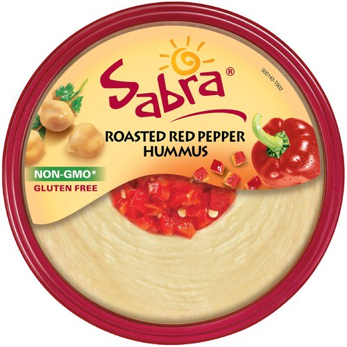 Sabra Roasted Red Pepper Hummus, 10 oz