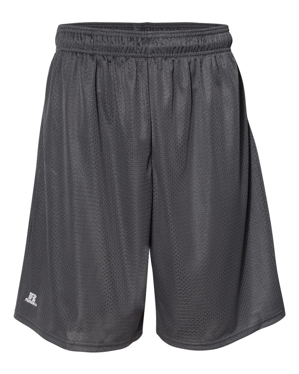 "Russell Athletic Men's 9"" Polyester Tricot Mesh Pocketed Shorts, Style 651AFM"
