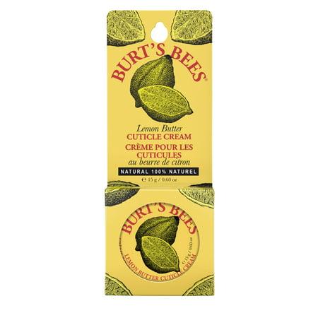 Burt's Bees 100% Natural Lemon Butter Cuticle Cream, 0.6 oz