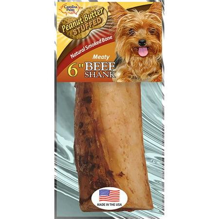 Carolina Prime Beef Shank Bone - Peanut Butter Stuffed ()
