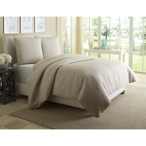 Michael Amini Dash Coverlet Set Queen