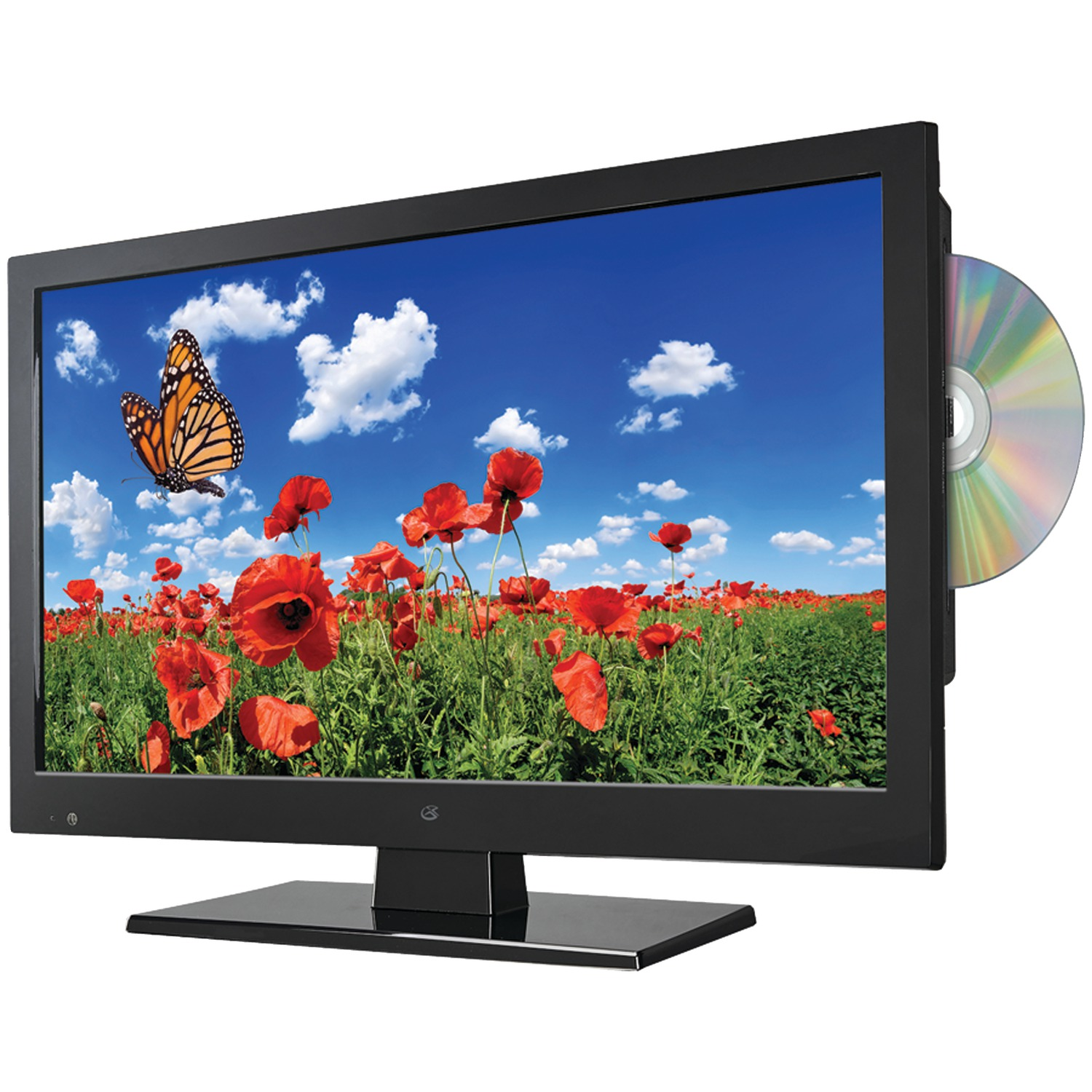 "GPX 15.6"" Class HD, LED TV with DVD Player 720p, 60Hz (TDE1587B) by GPX"