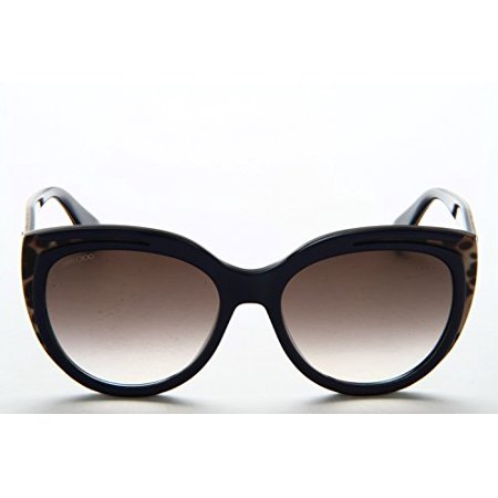Jimmy Choo - NICKY/S, Cat Eye, acetate, women, BLUE ANIMALIER FANTASY/BROWN SHADED(PVR/JS), 56/18/145