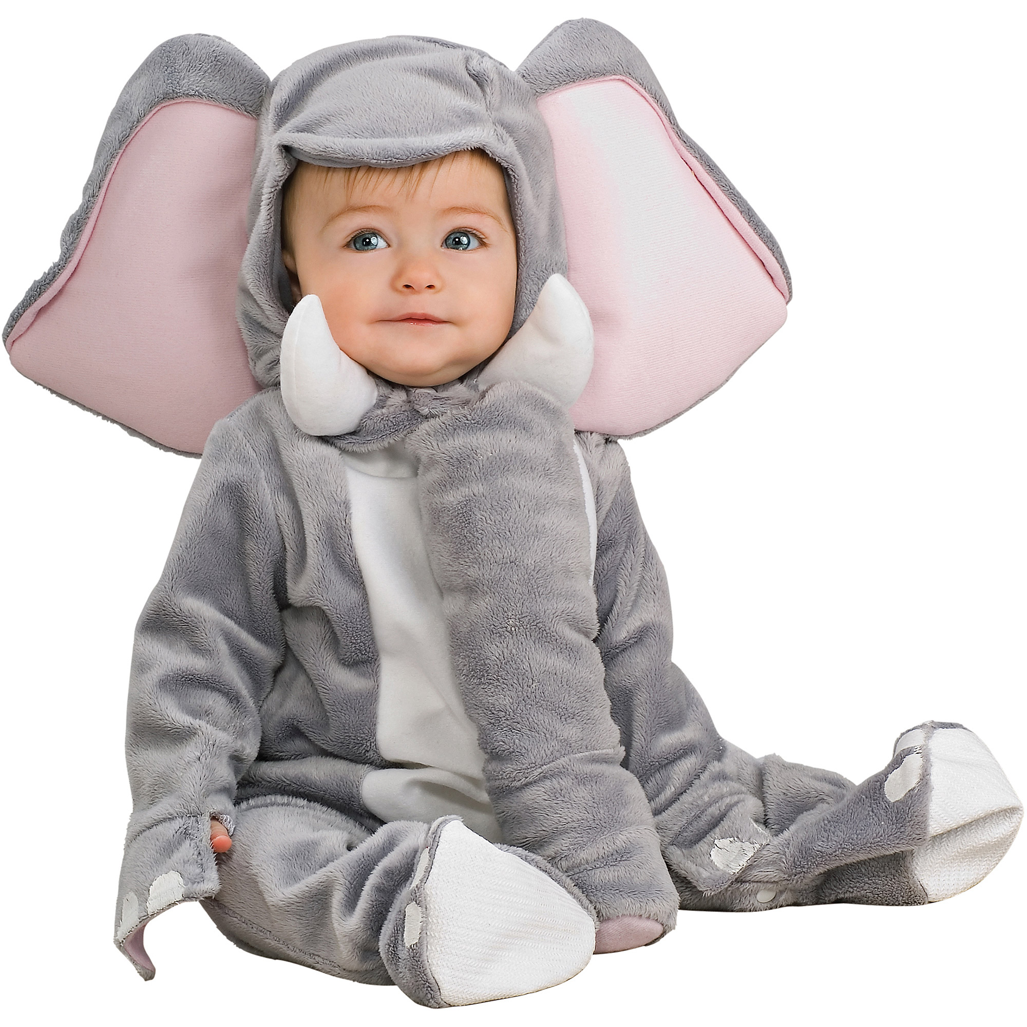elephant infant jumpsuit halloween costume walmartcom - Walmart Halloween Costumes For Baby