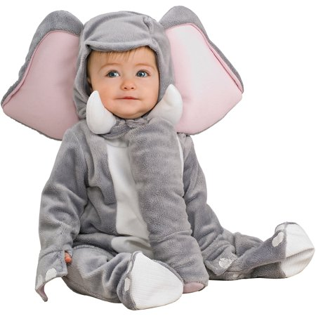 Elephant Infant Jumpsuit Halloween Costume - Funny Infant Halloween Costume Ideas