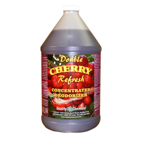 Double Cherry Refresh - Concentrated economical deodorant - 1 gallon (128 - Concentrated Room Deodorants