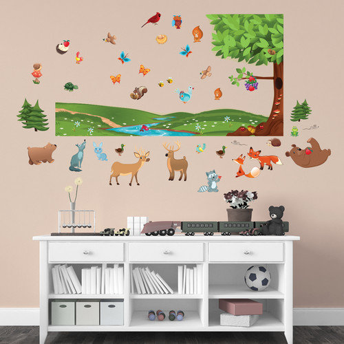 Mona Melisa Designs Forest Wall Decal