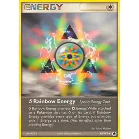 Pokemon Dragon Frontiers Delta Species Rainbow Energy #88