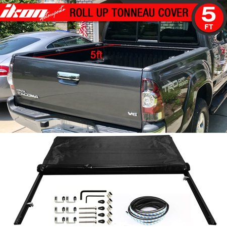 - Fits 05-15 Tacoma Double Cab With 60in Bed Lock Soft Roll Up Tonneau Cover