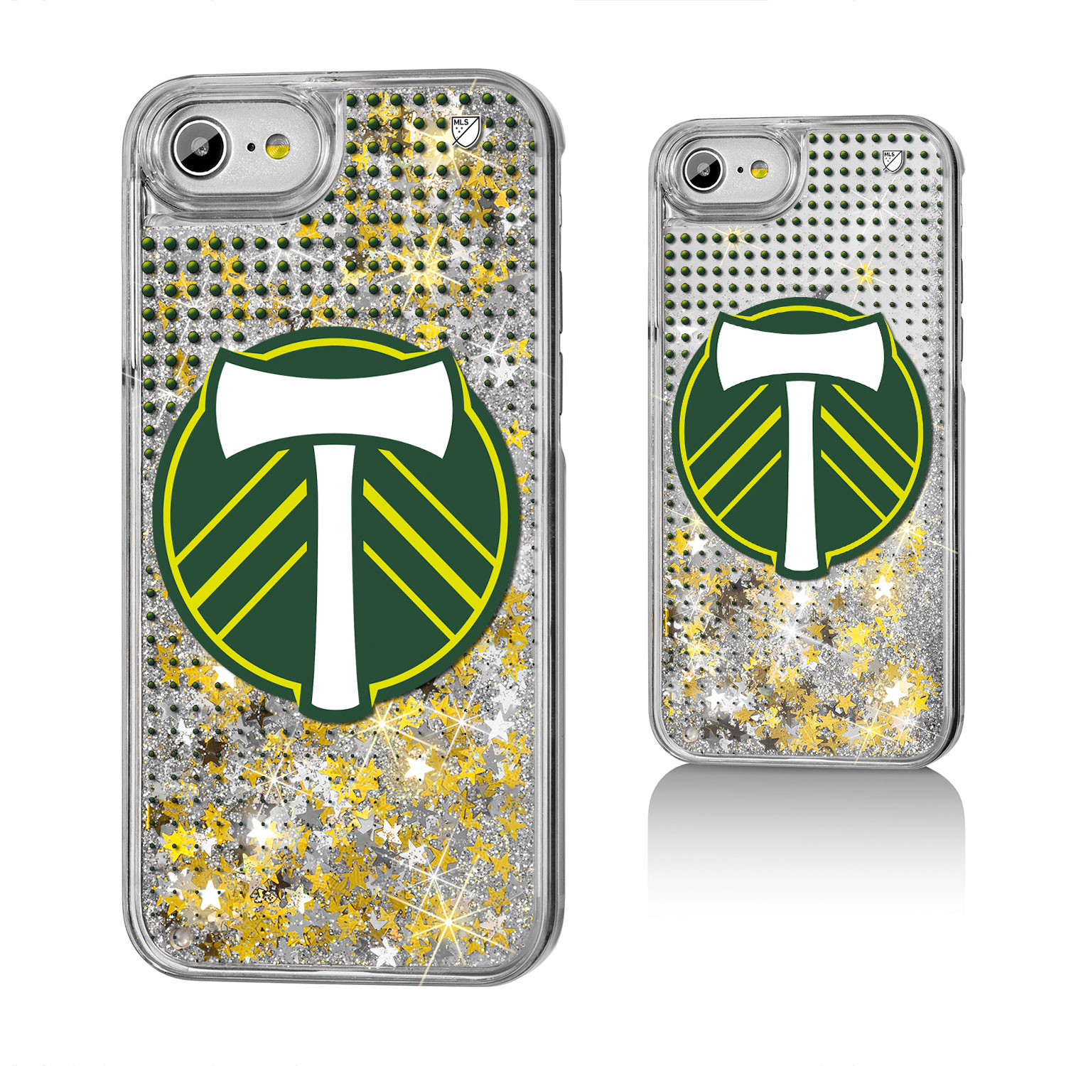 Portland Timbers RCTID Dots Glitter Case for iPhone 8 / 7 / 6