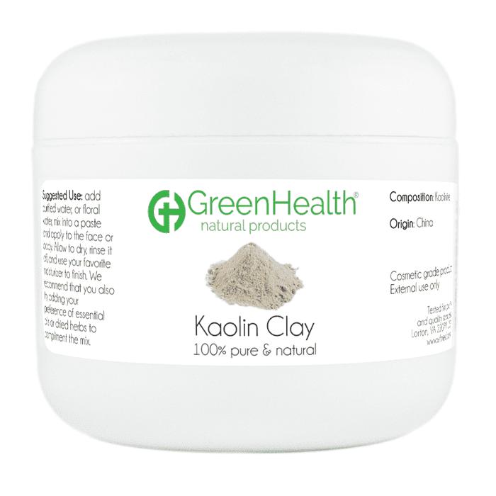 Kaolin Clay 3 oz Plastic Jar