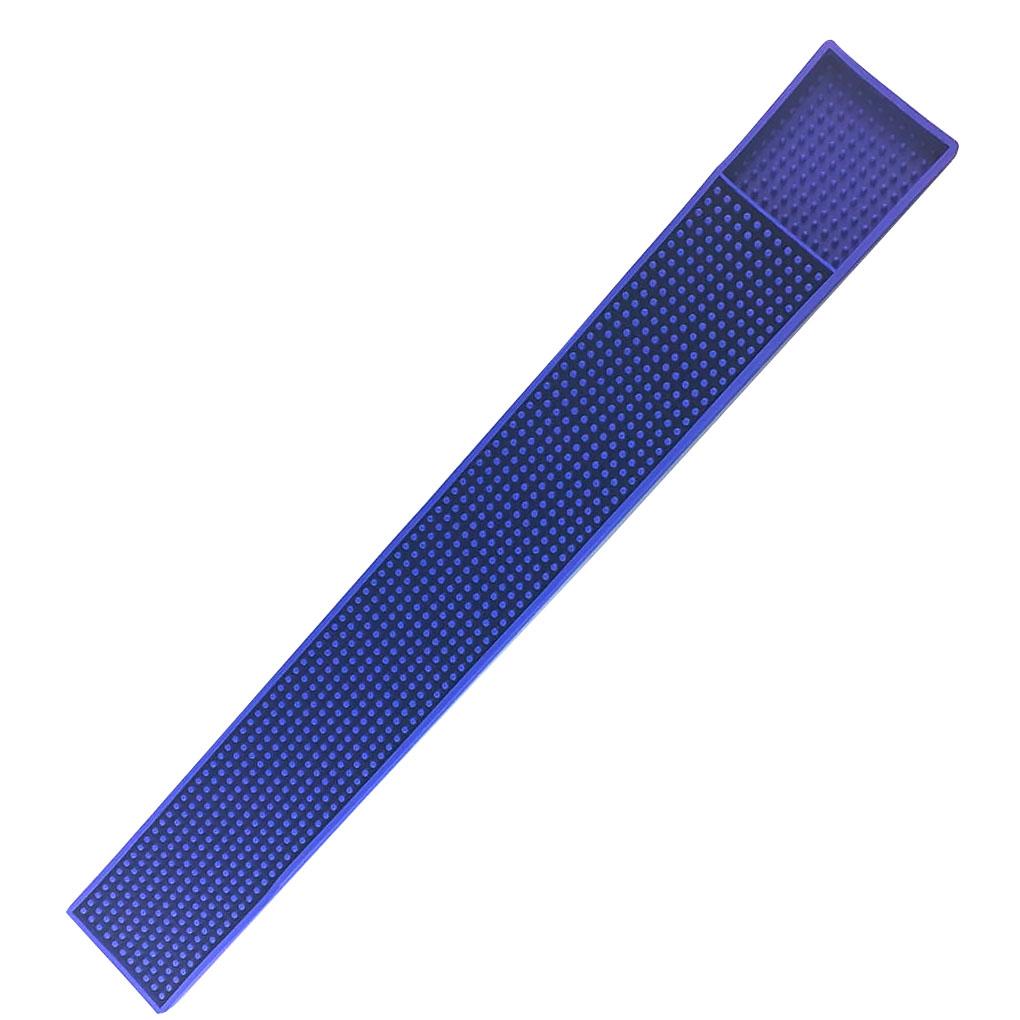 Rubber Pub Bar Service Runner Mat Strip Drink Cup Placemat Coaster 60x8cm