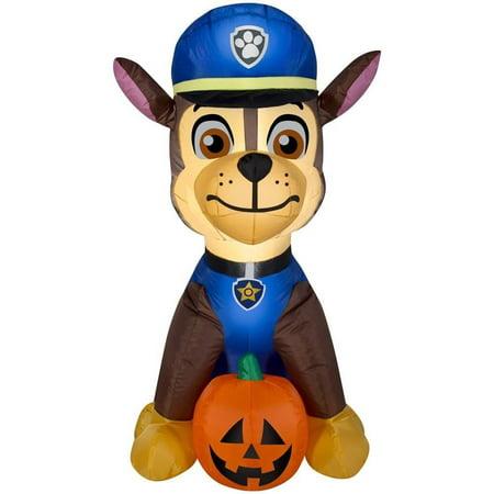 PAW Patrol Chase Airblown Halloween Decoration (Paw Patrol Halloween Bucket)