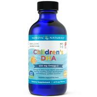 Nordic Naturals 530 mg, 4 fl oz Children's DHA Liquid, Strawberry