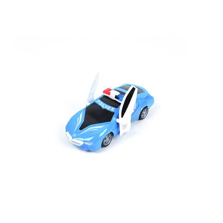27MHZ 1:18 RC Car Police Cruiser 4-channel hit open doors Remote Control Car Educational Toy Vehicle (Model Car Open Door)