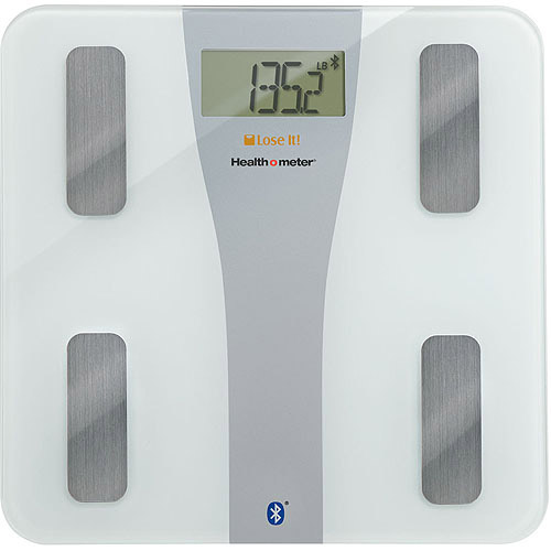 Health o meter Lose It! Wireless Glass Body Fat Scale for iPhone, BFM147DQ-01