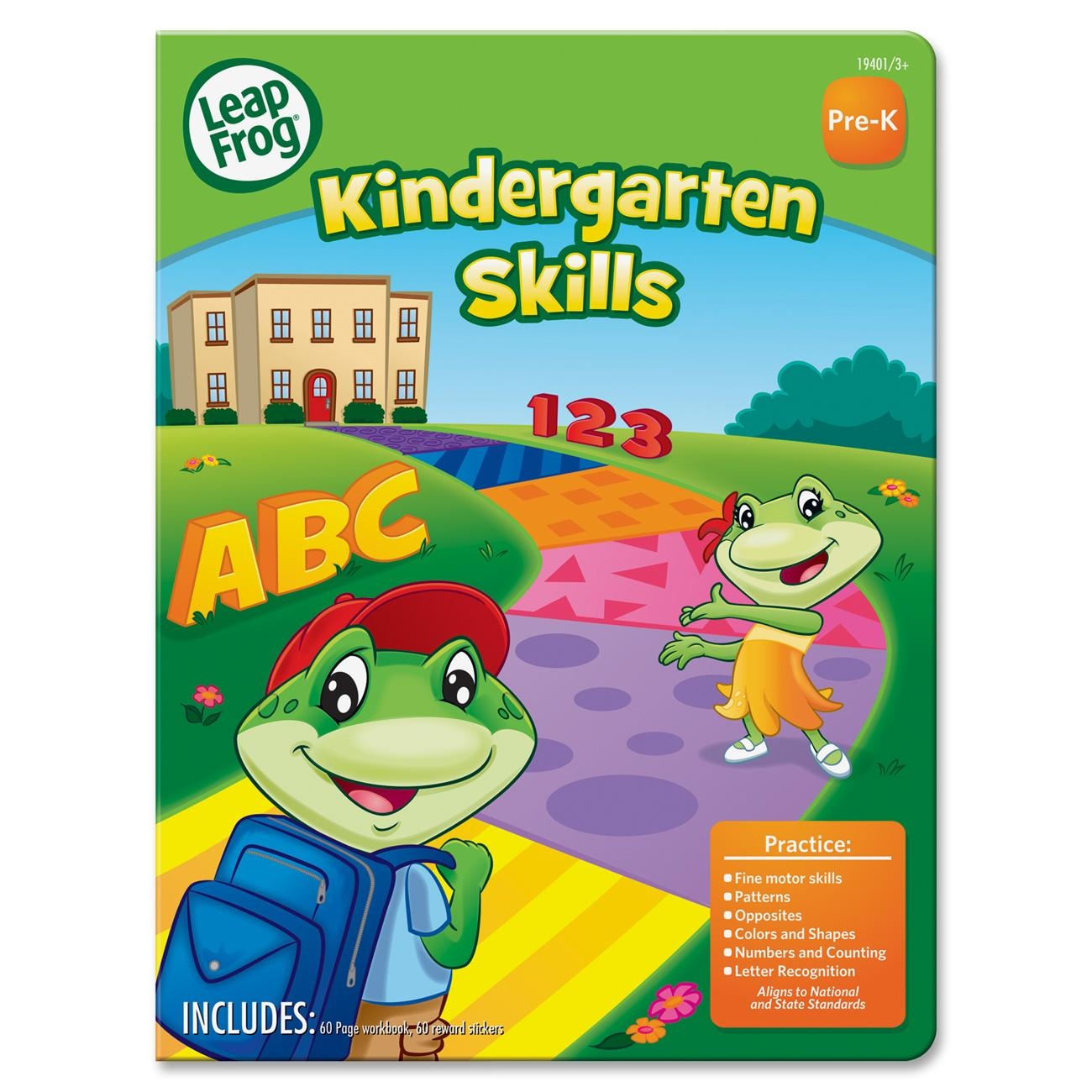 Mega Brands Board Dudes Kindergarten Skills Activity Workbookactivity 24 Printed Books (19401UA24)