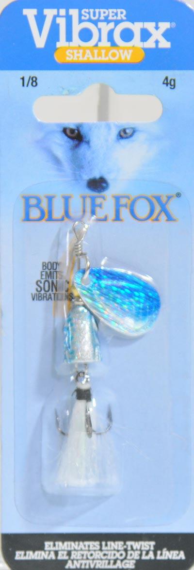 Blue Fox VSS1SD Classic Vibrax Shallow Spinner 1//8 oz Dressed