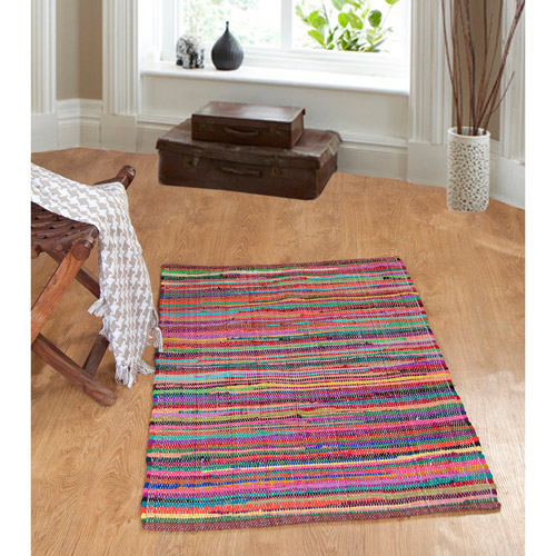 Better Homes and Gardens Jeweled Rug Multi Colored 2 x 13