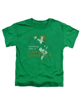 Jla - Rash Of Good Luck - Toddler Short Sleeve Shirt - 4T