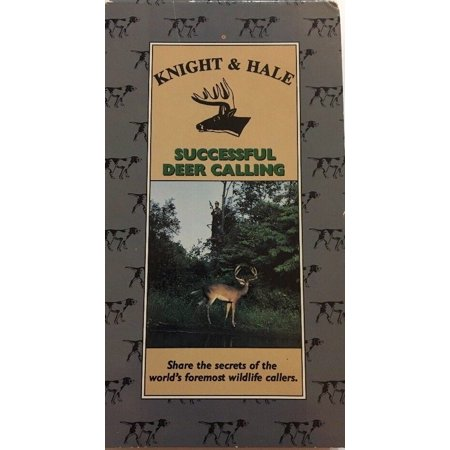 Knight & Hale Successful Deer Calling Hunting VHS-TESTED-RARE VINTAGE-SHIP N (Hunting Star)