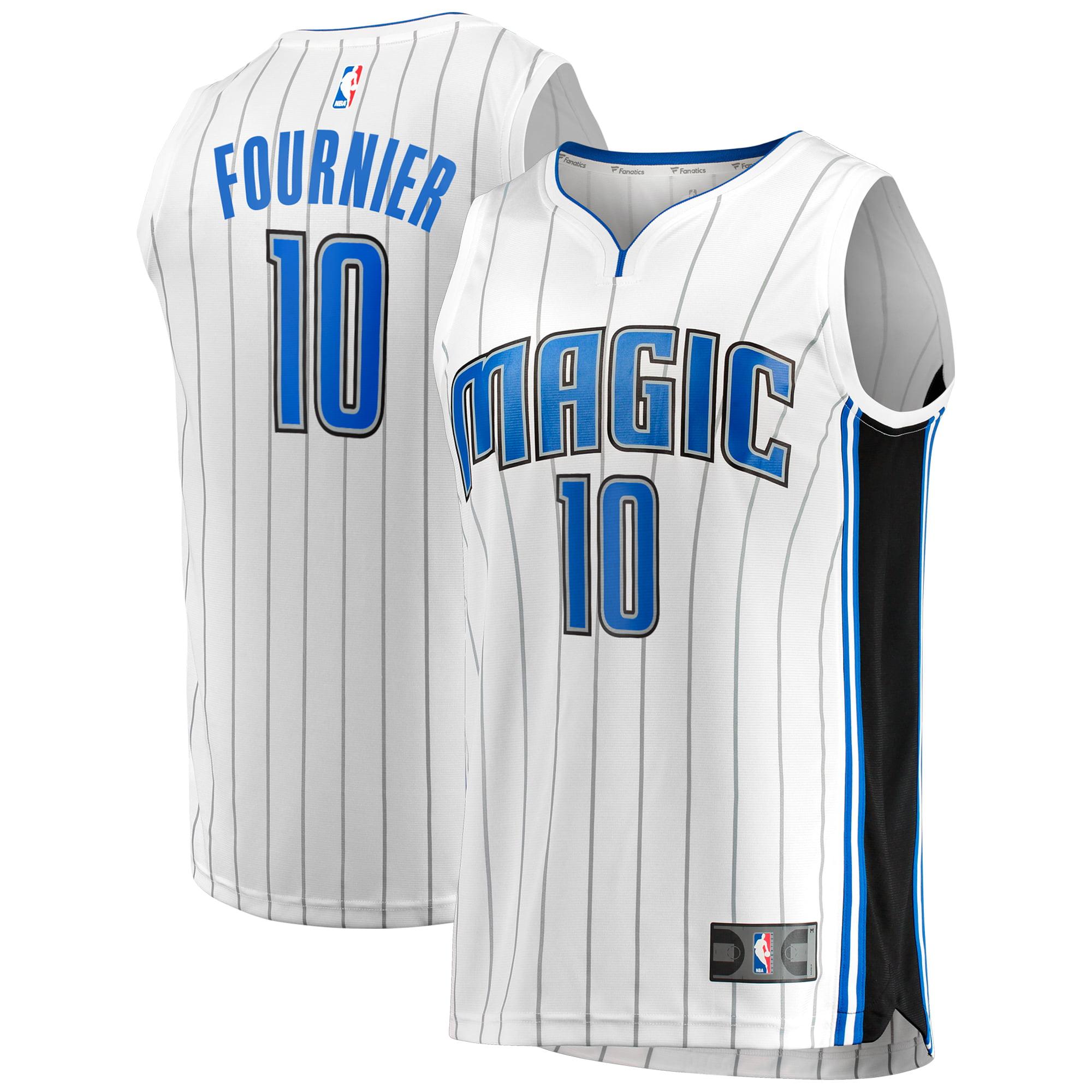 Evan Fournier Orlando Magic Fanatics Branded Fast Break Jersey - Association Edition - White