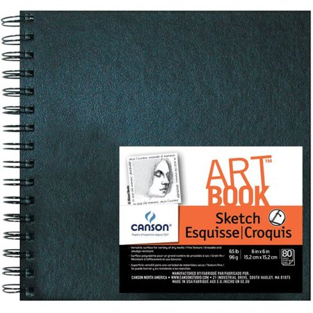 Bound Square (Canson Field Sketchbook - 6