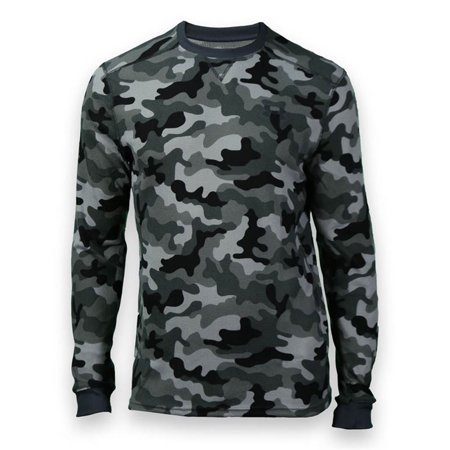 Under armour men 39 s steel amplify camo thermal long sleeve for Under armour shirts at walmart