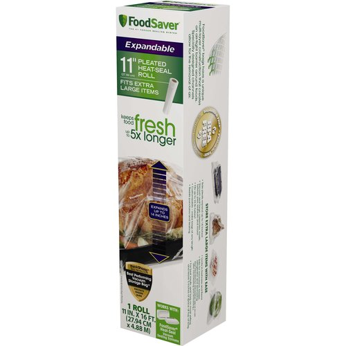 FoodSaver 11 in x 16 ft Expandable Heat-Seal Roll