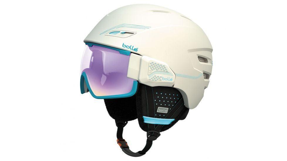 Bolle Osmoz Helmet & Visor Soft White Aurora Lens 58-61CM by