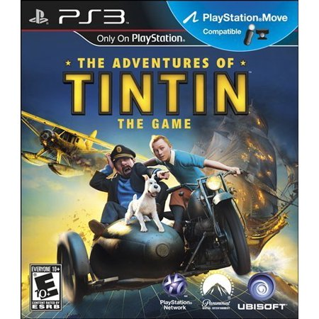 Adventures of Tintin: The Game, Ubisoft, PlayStation 3, 008888346647 - Halloween Adventure Game