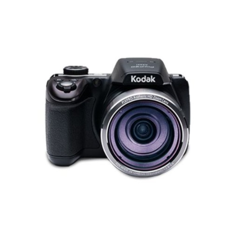 "Kodak AZ521, 16MP Camera with 52x Optical Zoom, 3"" LCD Screen, 1080p Video Recording - Black"