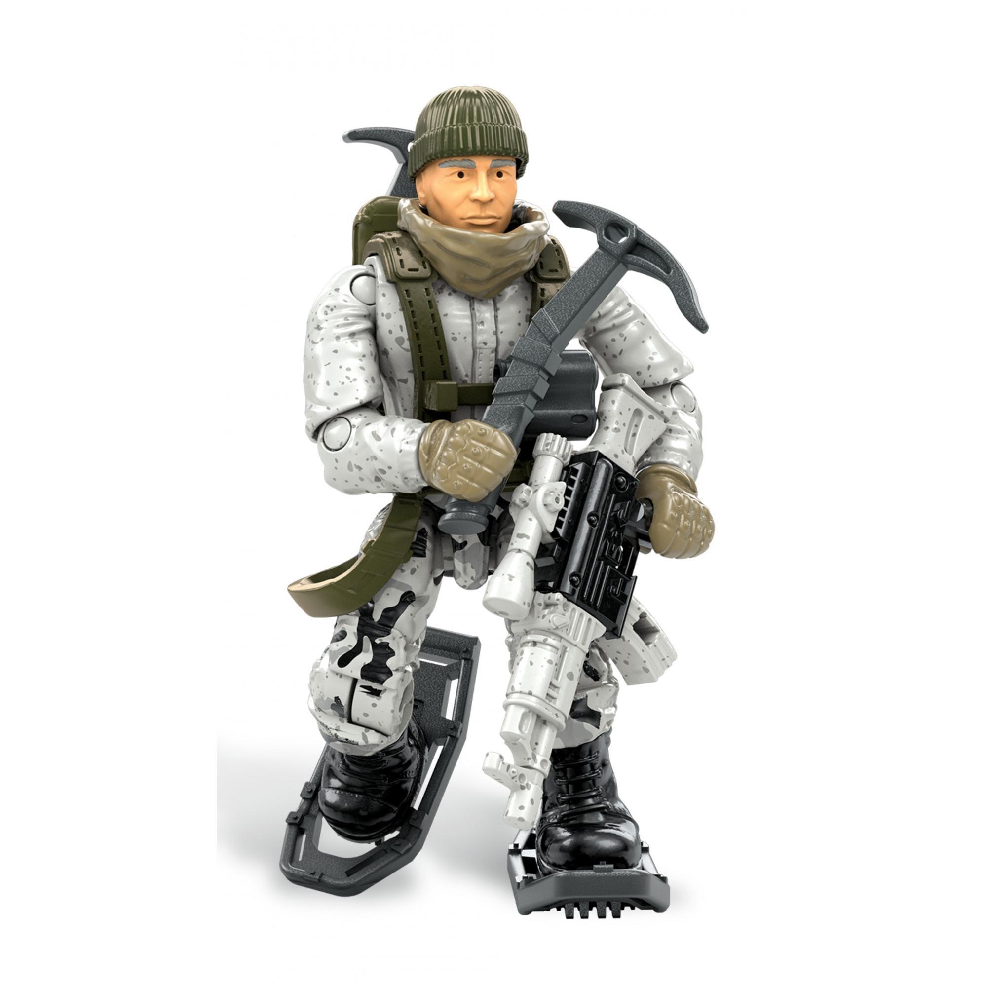 Mega Construx Call Of Duty Arctic Ranger Micro Action Figure Brickseek