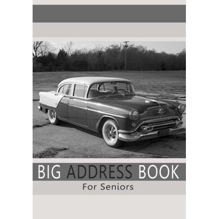 Big Address Book For Seniors  Large Print Address Book With A   Z Tabs For Quick Reference