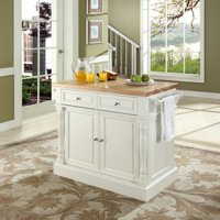 Furniture Butcher Block Top Kitchen Island