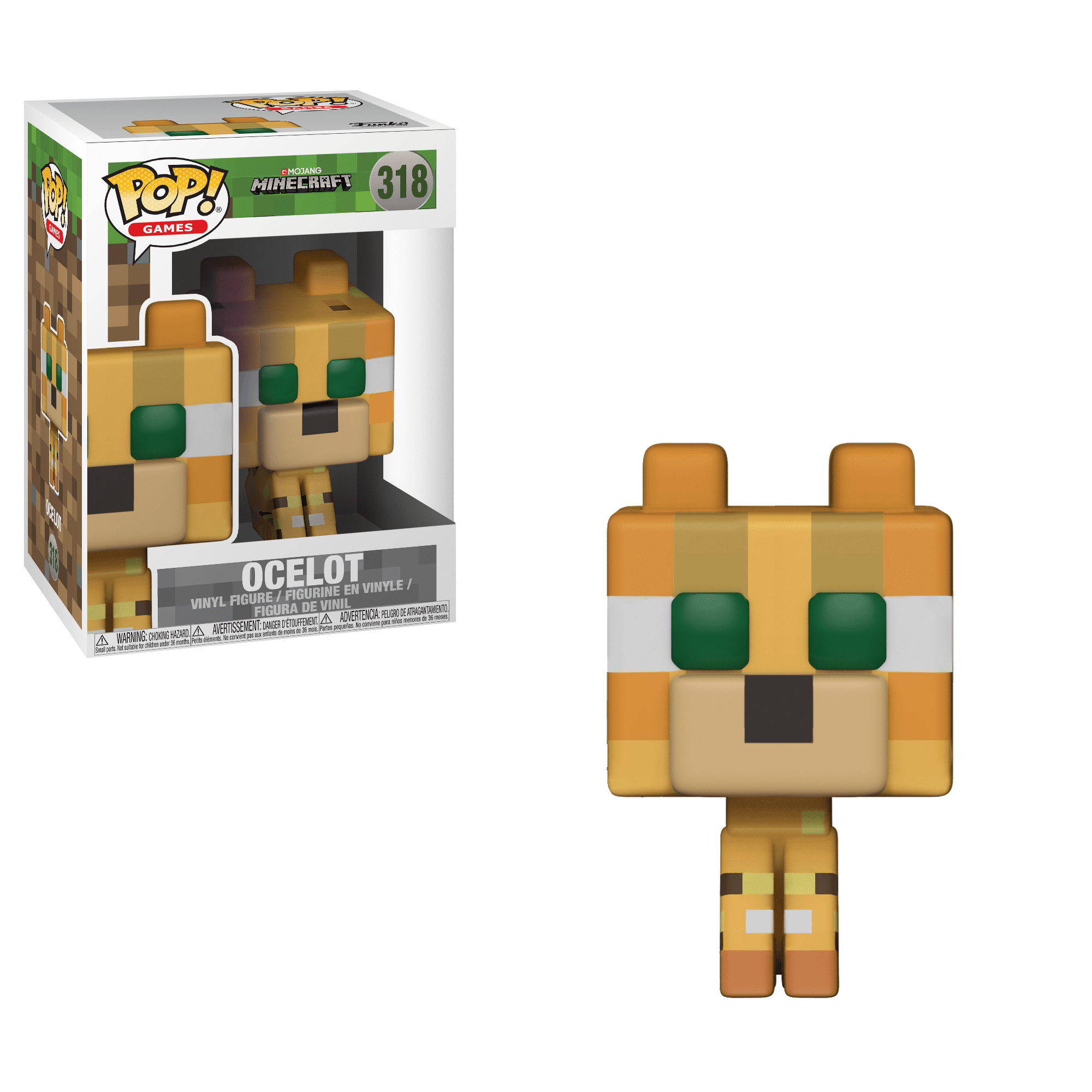 Funko POP! Games: Minecraft Ocelot by Funko