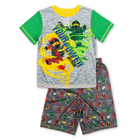Boys' Ninjago 2 Piece Pajama Short Set (Little Boy & Big Boy) - Little Boys Christmas Pajamas