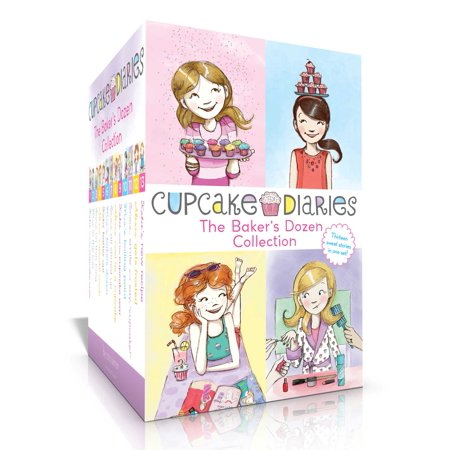 The Baker's Dozen Collection : Katie and the Cupcake Cure; Mia in the Mix; Emma on Thin Icing; Alexis and the Perfect Recipe; Katie, Batter Up!; Mia's Baker's Dozen; Emma All Stirred Up!; Alexis Cool as a Cupcake; Katie and the Cupcake War; Mia's Boiling Point; etc.](Cupcake Wars Themes)