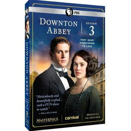 Downton Abbey: Season 3 (Walmart Exclusive) (WALMART - Downton Abbey Outfit