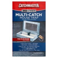 Deals on Catchmaster Multi-Catch Mouse Trap w/Glue Board