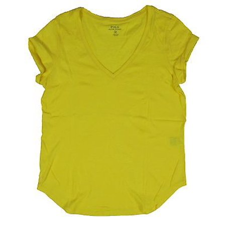4df51149a4bd Ralph Lauren Polo Womens V-Neck Loose Fitting Pony Shirt Black White ...