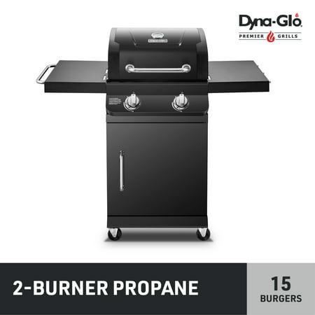 Dyna-Glo Premier 2 Burner Propane Gas Grill Outdoor BBQ