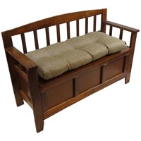 """The Gripper Tufted 36"""" Universal Bench Cushion, Omega"""