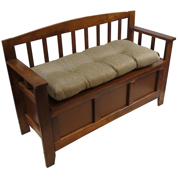 Gripper Tufted 36 Universal Bench Cushion Omega Walmart Com Walmart Com