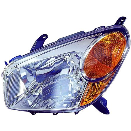 Aftermarket Headlight Lenses (2004-2005 Toyota RAV4  Aftermarket Driver Side Front Head Lamp Lens and Housing 8110642280)