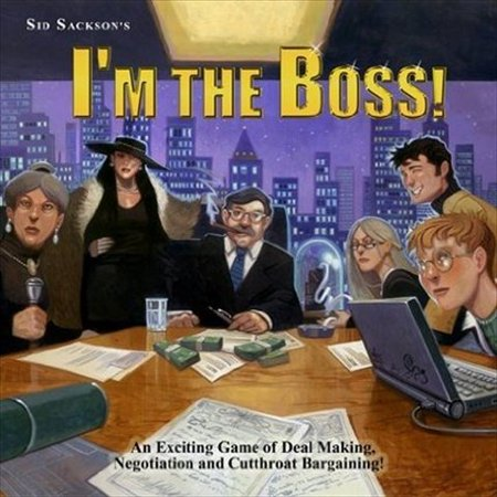 Face 2 Face Eagle-Gryphon Games I'm The Boss Bargaining Board Game - image 1 of 1