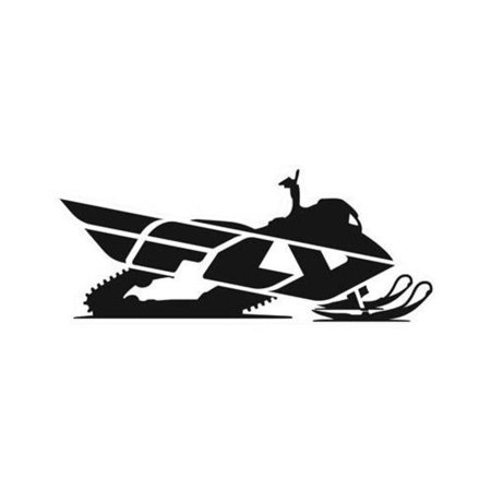 "Fly Racing FLY SNOW 15"" Snow Sticker - 15in."