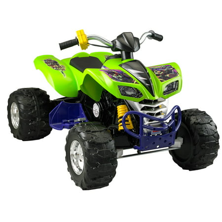Power Wheels Teenage Mutant Ninja Turtles Kawasaki KFX 12-Volt Battery-Powered Ride-On