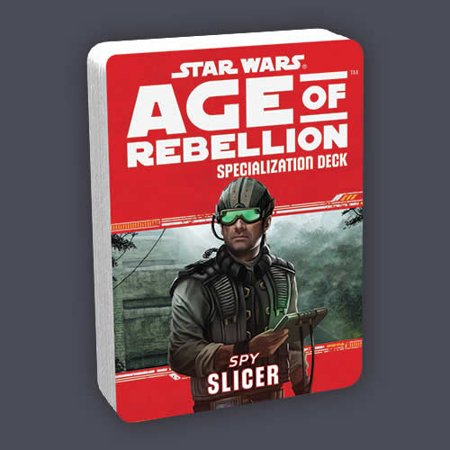 Star Wars Age Of Rebellion Spy Slicer Deck Fantasy Flight