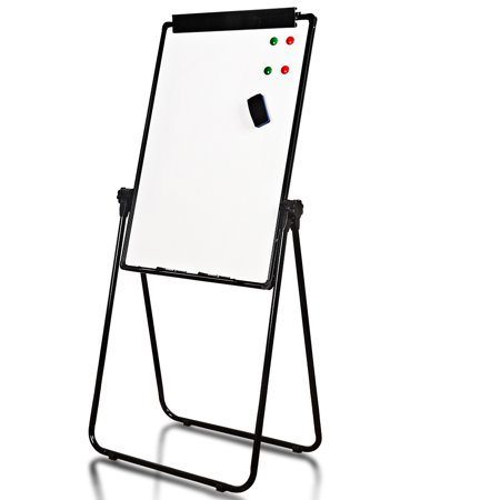Sundale Outdoor Indoor Doublesided Magnetic Dry Erase Board With Stand Lightweight Whiteboard Flipchart Marker Board Adjustable For Height And Angle